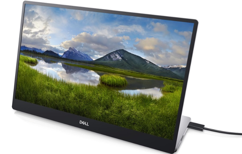 The C1422H is Dell's first portable monitor. Image courtesy of Dell.