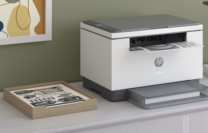 The new printers have a rather nice look to them. Image courtesy of HP.