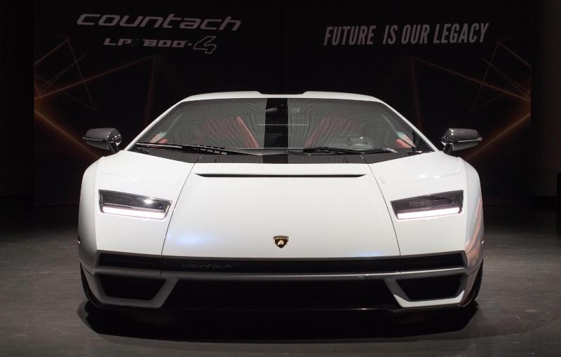 The Lamborghini Countach LPI 800-4 (Image source: Lamborghini)