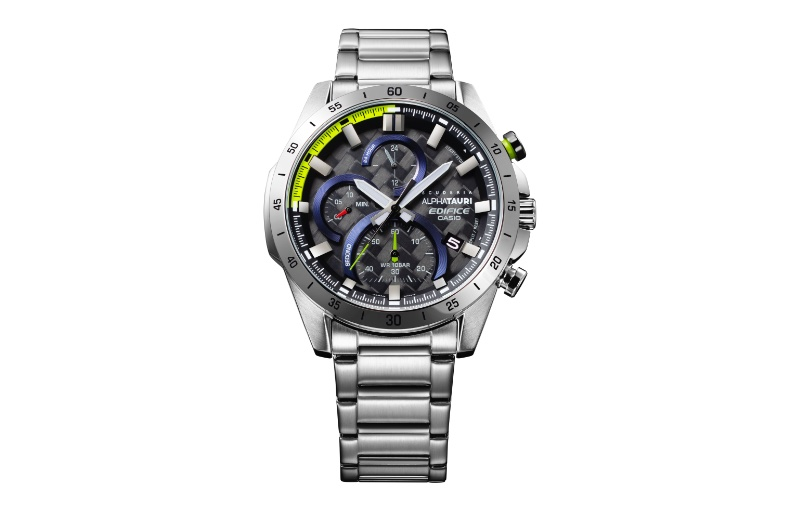 The EFR-571AT is the simplest of the three new watches. Image source: Casio.
