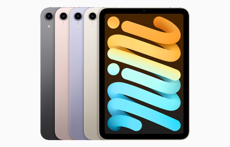 The various colours it will come in. Image source: Apple