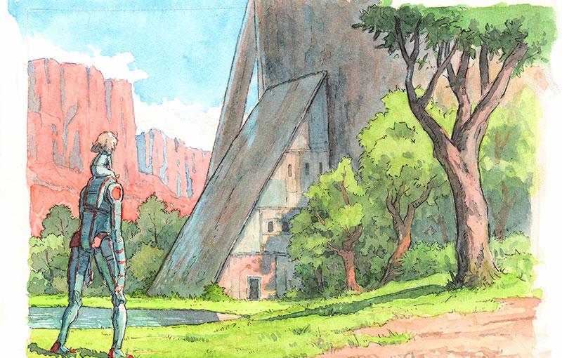 Eden concept artwork (Image: Netflix)