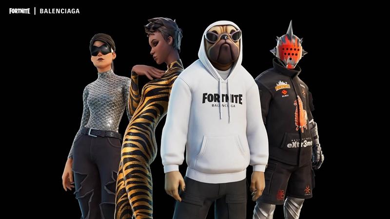 Image: Epic Games, Balenciaga