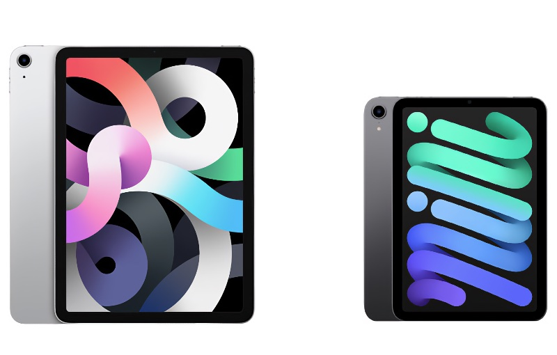 They feature a similar design with smooth rounded corners.