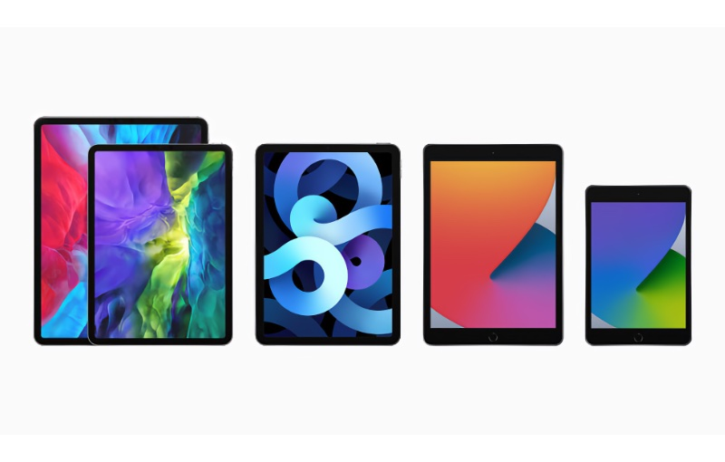 There are currently four models in Apple's iPad family.