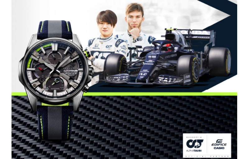 The new watches include 6K carbon fibre. Image source: Casio.