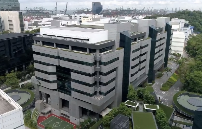 This is the location of Epson South East Asia's new regional HQ.
