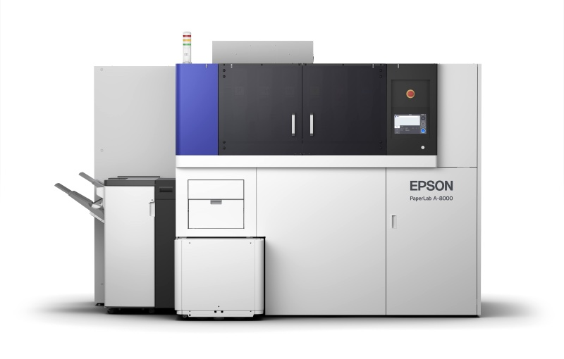 PaperLAb converts waste paper into new paper for office use. Image courtesy of Epson.