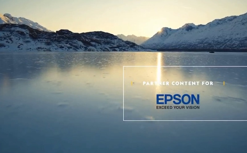 Epson is partnering with Nat Geo to highlight the effects of global warming on our permafrost.