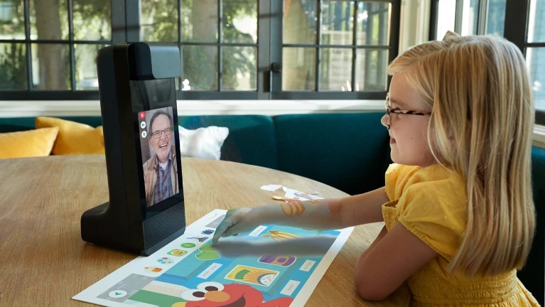 The Amazon is an interactive video conference solution for kids. Image source: Amazon.