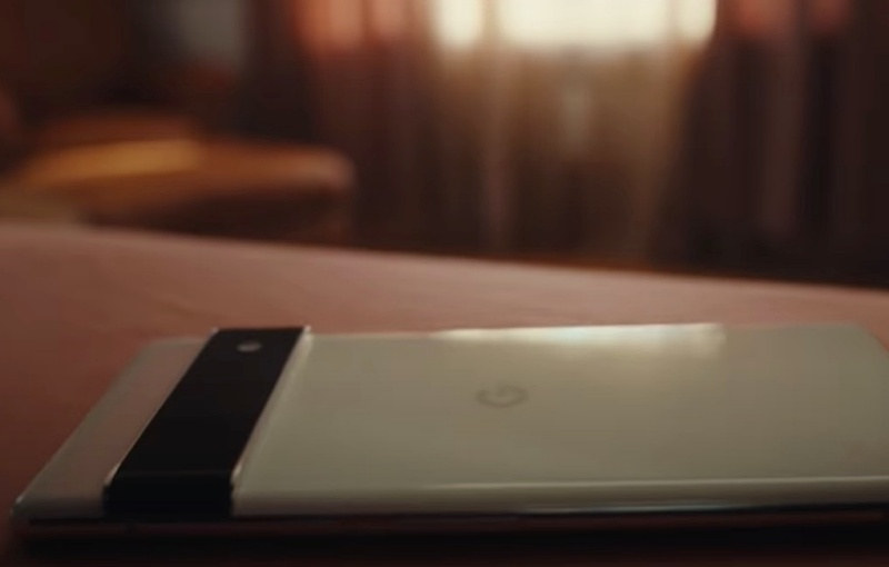 """Screenshot taken from Google's YouTube video on """"Google Pixel 6 - For All You Are""""."""