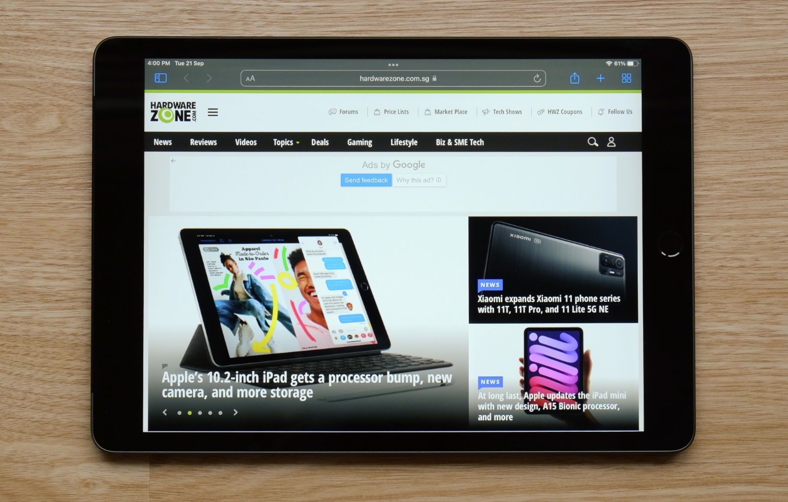 The 9th-generation iPad is mostly identical to its predecessor but it has updates where it matters.