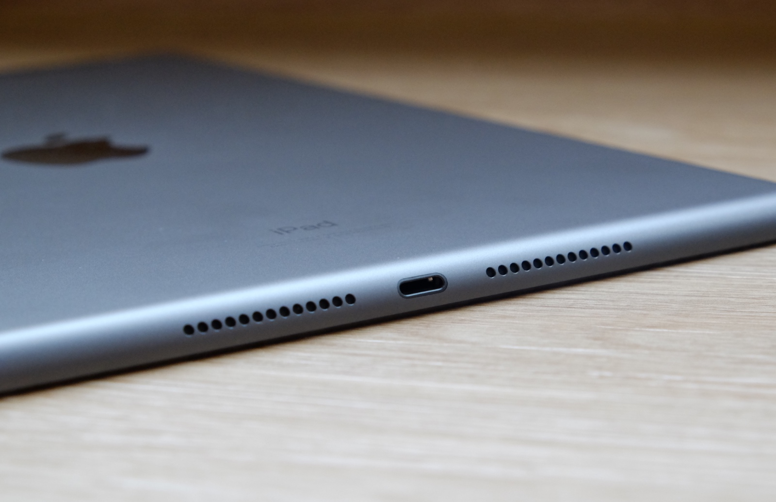 The is now the only iPad to still use the Lightning port.