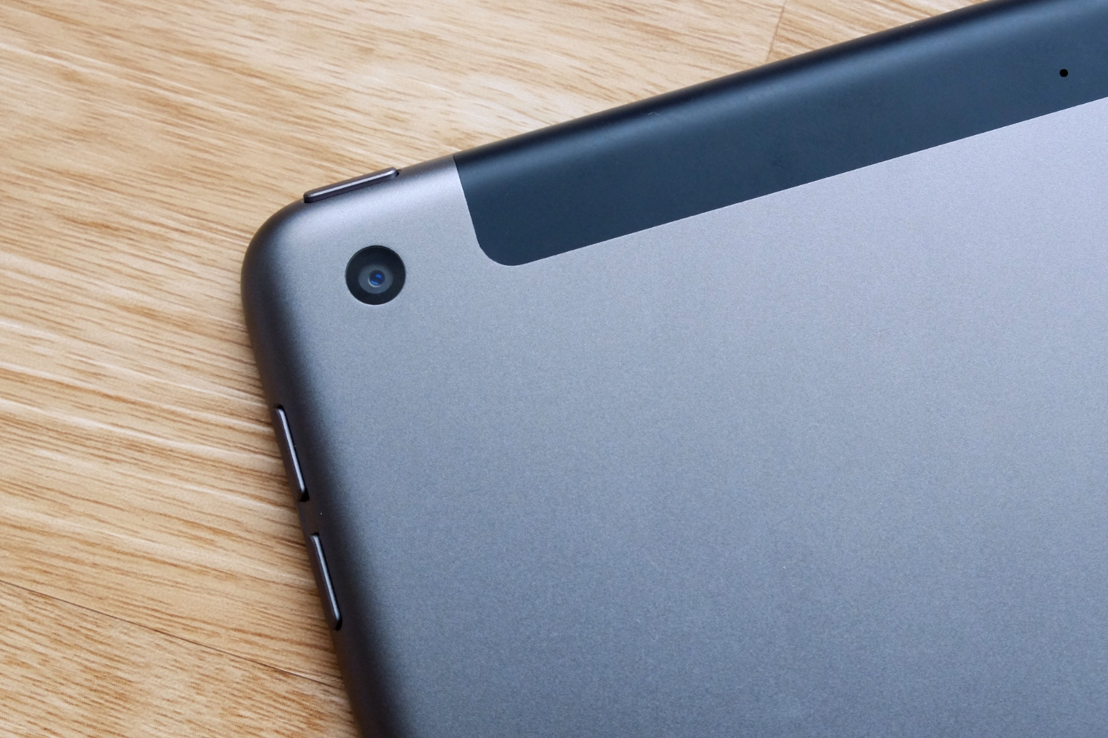 The rear camera is the same 8-megapixel f/2.4 unit as last year.