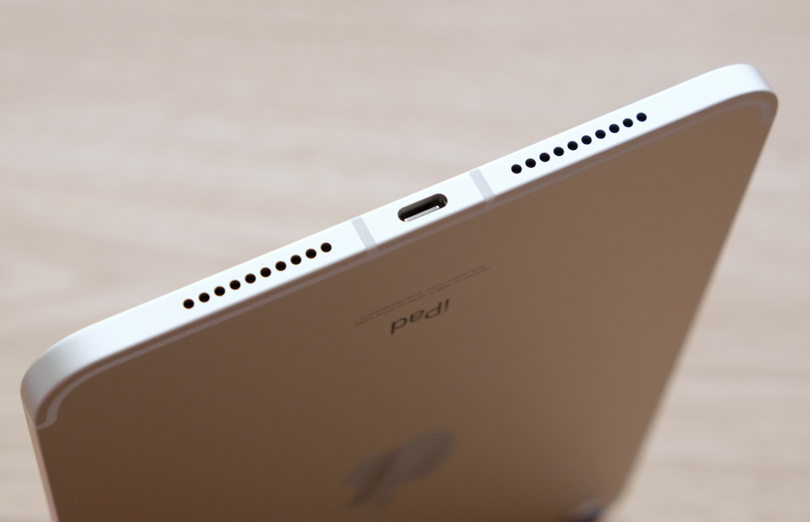 Happily, the latest iPad Mini ditches the Lightning port for the more modern and versatile USB-C port.