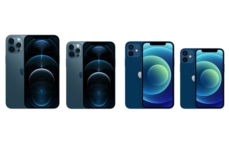 The Apple iPhone 12 lineup.