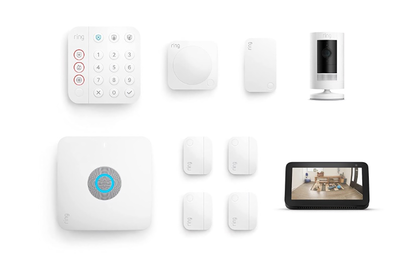 Everything you need to keep your home safe. Image source: Amazon.