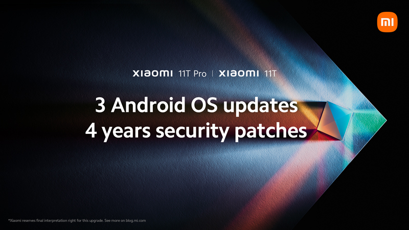 Xiaomi 11T and 11T Pro are due for a 15 September launch.