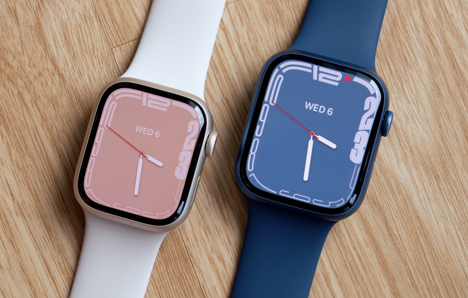 Regardless of which size you pick, the new Series 7 watches are expected to provide the same 18 hours of battery life.