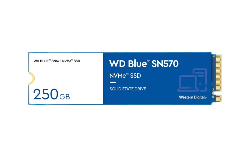 The 250GB SSD is the smallest capacity available for customers.