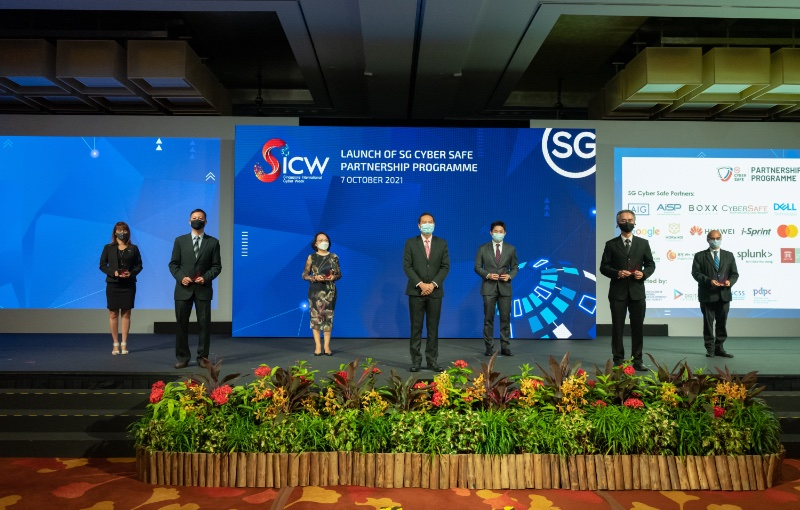 Cybersecurity will be made easier for Singaporeans and Singapore businesses. Image source: SICW.