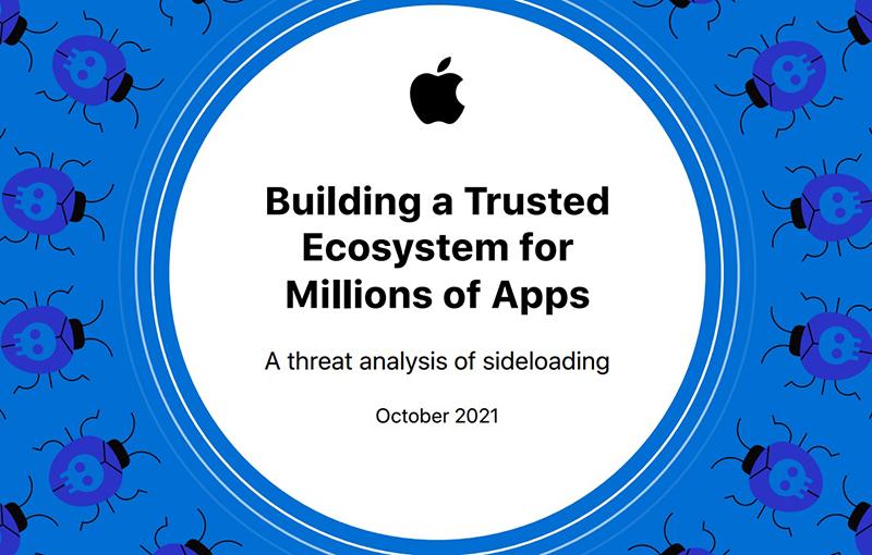 Apple's whitepaper on sideloading of apps.