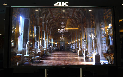 The very expensive Bravia X9000 proved to be a feast for our eyeballs when true 4K content was fed into the display.