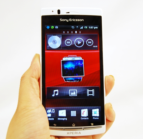 Presenting the Sony Ericsson Xperia Arc S(econd?).