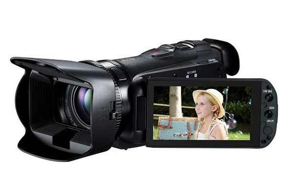 Canon Legria HF G25 camcorder. (Image source: Canon UK.)