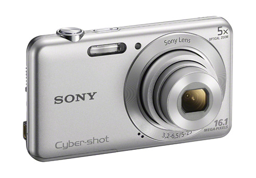 Cyber-shot W710 – 16.1 effective megapixels Super HAD CCD sensor, 5x optical zoom Sony lens, HD video, Intelligent Auto, Beauty Effect, Advanced Flash.