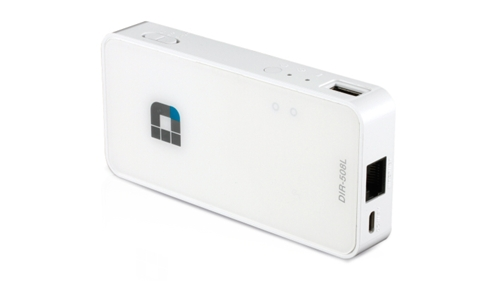 D-Link SharePort Go II (DIR-508L) (Image Source: D-Link)