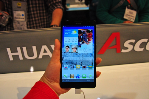 The 6.1-inch Ascend Mate. In the flesh!