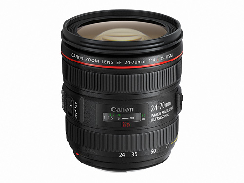 The EF 24-70mm f/4L lens will be available in mid-January for S$2099.