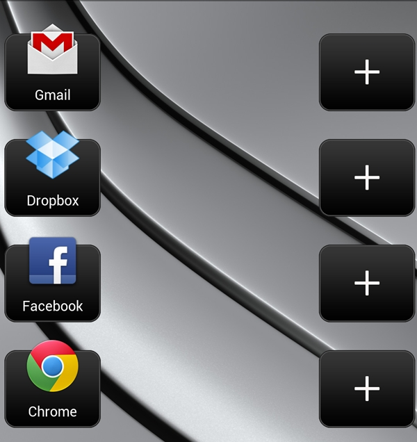 Want quicker access to your most commonly used apps? Use the App & Shortcut widget!