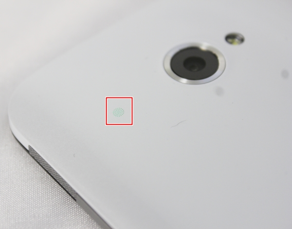 Kudos to the HTC team for adding a second notification light on the back of the Butterfly.