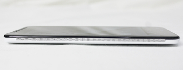 The perforated metal strips along the sides of the HTC Butterfly serve no functional purpose other than to give the phone a more premium feel.