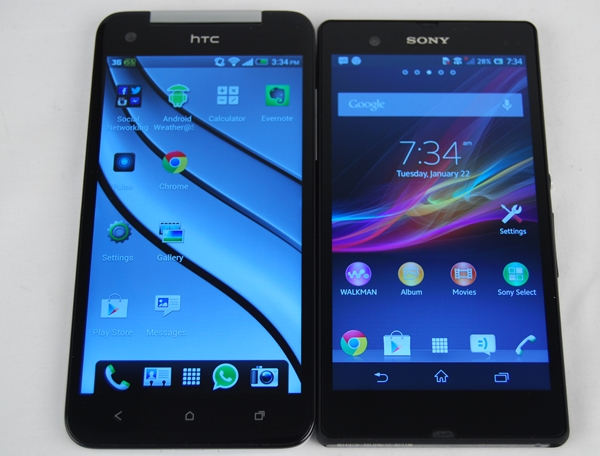 Both the HTC Butterfly and Sony Xperia Z are arguably the most anticipated 5-inch phones at the moment.