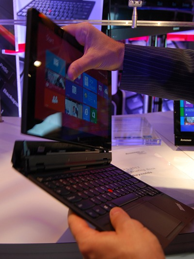 The Lenovo Helix has a removable keyboard for true tablet functionality with a processing platform of a notebook workhorse.