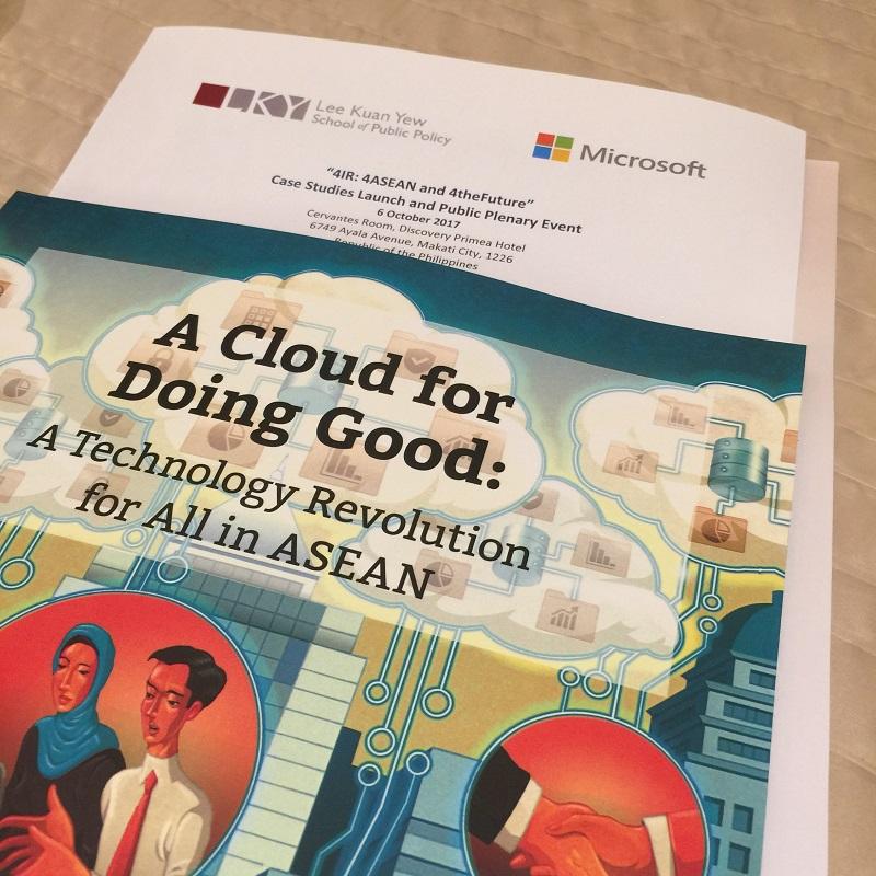 asean, cloud computing, dict, microsoft, myanmar, philippines, singapore, usec eliseo rio jr, vietnam, astrid tuminez, bertrand launay
