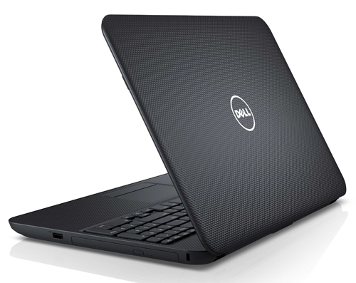 The Dell Inspiron 15 comes with a nice textured chassis