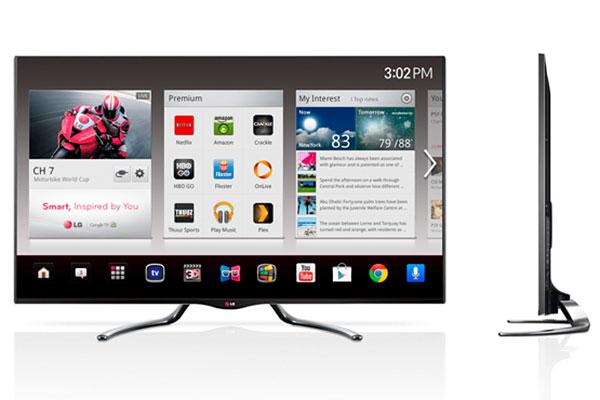 LG Google TV. (Image source: LG.)