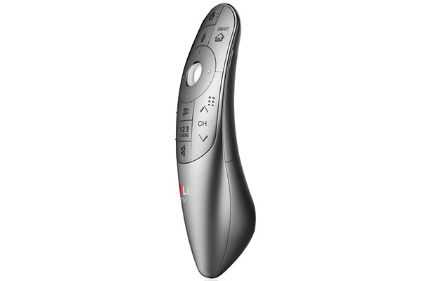 LG's redesigned Magic Remote. (Image source: LG.)