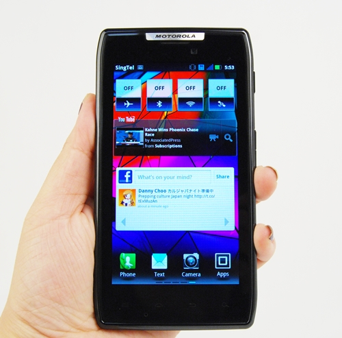 Is the newest Motorola RAZR for you?