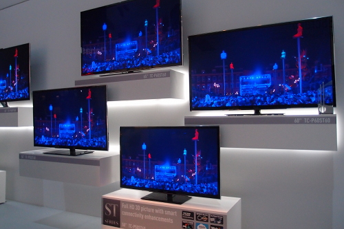 Panasonic unveils 16 led tvs and 16 plasma tvs at ces 2013 - Table de tv led ...