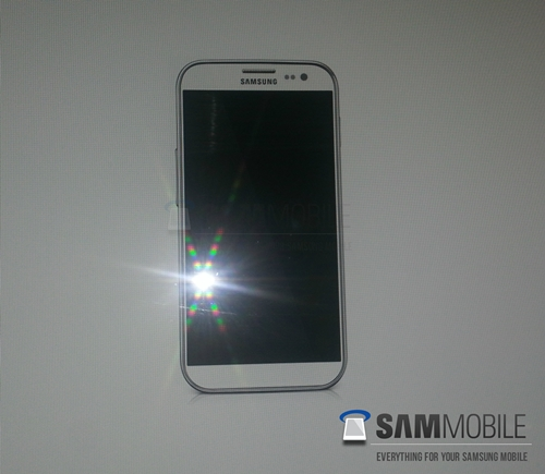 Alleged render of the next-gen Samsung GALAXY S IV device <br>Image source: SamMobile