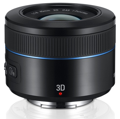 The world's first one-lens 3D system for consumers cameras.