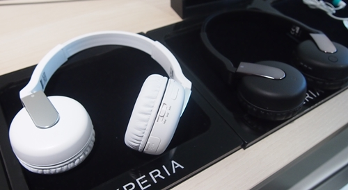 The Wireless Headset DR-BTN200M comes in two colors: black and white.