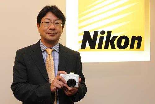 Kimito Uemura, General Manager, Nikon Hong Kong Ltd.