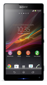 Xperia ZL (otherwise known as Odin). Source: GSMArena/Sony Mobile