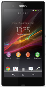 Xperia Z (otherwise known as Yuga) <br>Source: GSMArena/Sony Mobile